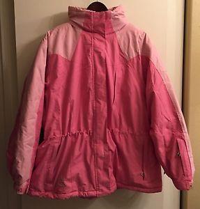 ☀Womens Winter Ski Coat Jacket☀Hood Pink 2X Plus Size Gerry Venting  | eBay