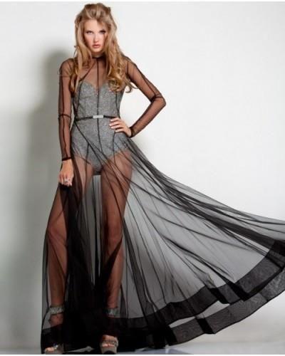 Боди под прозрачное платье