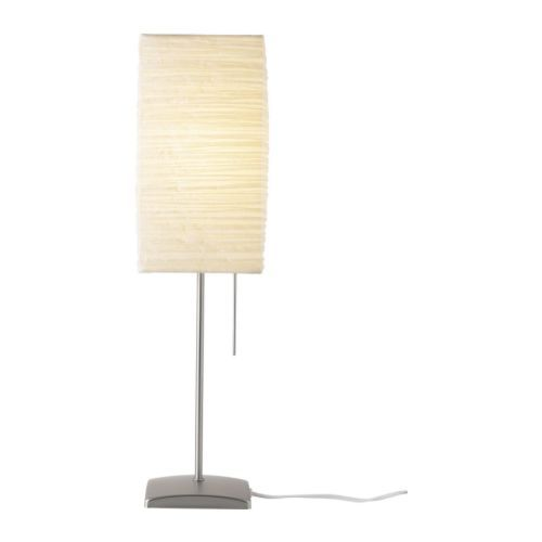 Elegant IKEA: ORGEL Table Lamp IKEA Shade Of Handmade Paper; Gives A Soft Mood  Light.