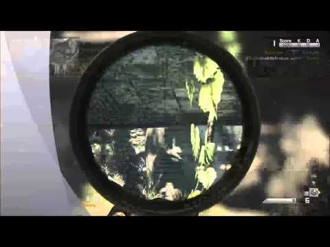 #CODghosts 1 min #sniping