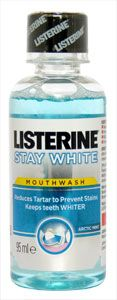 Listerine Stay White Mouthwash Arctic Mint 95ml Listerine Stay White Mouthwash Arctic Mint 95ml: Express Chemist offer fast delivery and friendly, reliable service. Buy Listerine Stay White Mouthwash Arctic Mint 95ml online from Express Chemist tod http://www.MightGet.com/january-2017-11/listerine-stay-white-mouthwash-arctic-mint-95ml.asp
