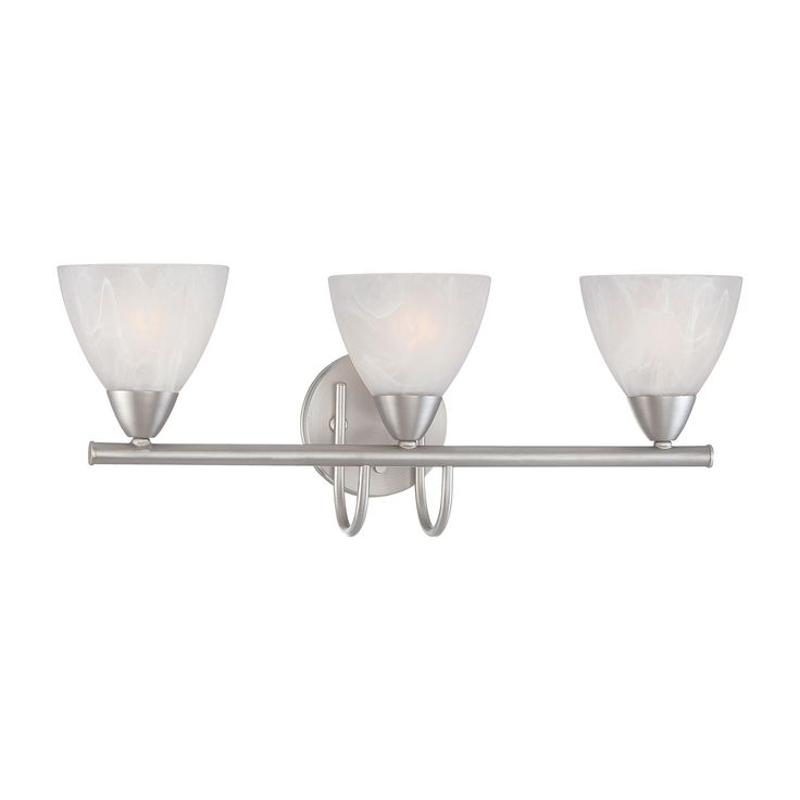 Thomas Lighting 190017117 Tia Collection Matte Nickel Finish Transitional Wall Sconce