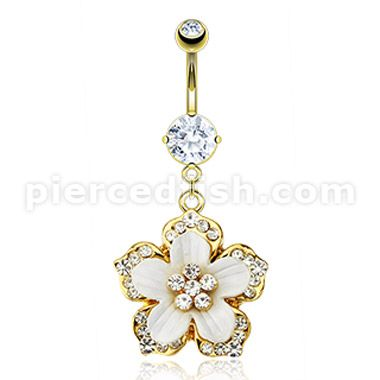 Any cute belly button ring... I want it.