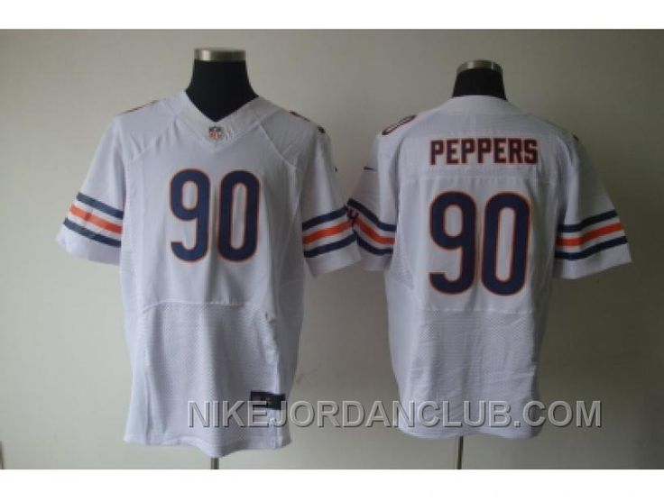newest cca04 b06a4 nike chicago bears 90 julius peppers lights out black elite ...