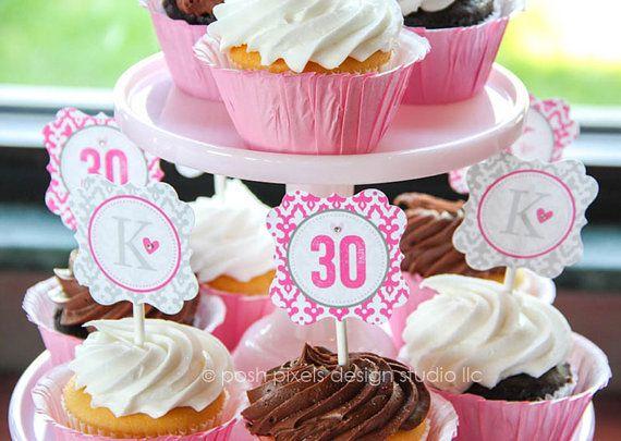 flirty thirty party ideas 30th birthday party favors | 30th birthday for her, for him, dirty 30, thirsty thirty 30, flirty 30 thirty, custom tattoos, thirty af, decor.