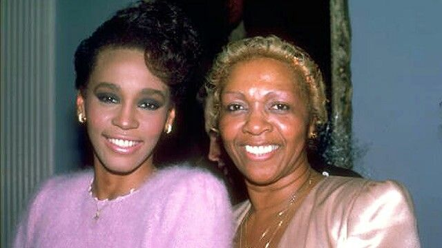 Whitney and Cissy Houston
