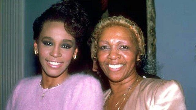 Whitney  and Cissy  Houston
