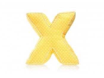 Pillow – letter X