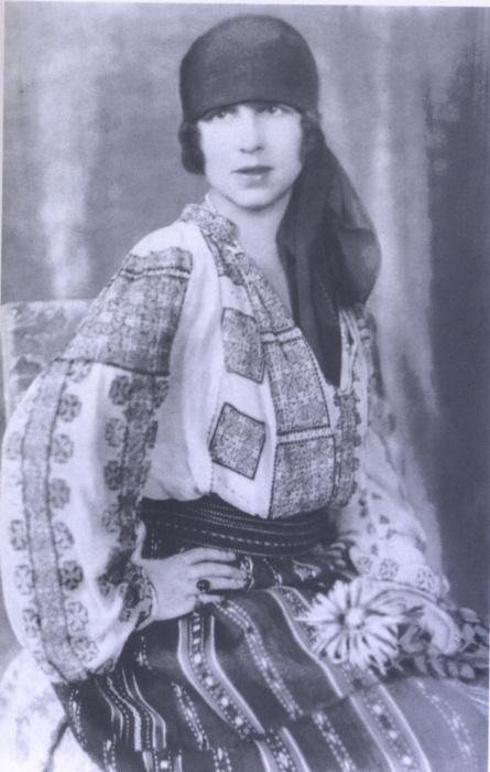 Elena, Crown Princess of Romania (nee Princess Helen of Greece).