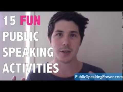 ▶ 15 Fun Public Speaking Activities - YouTube