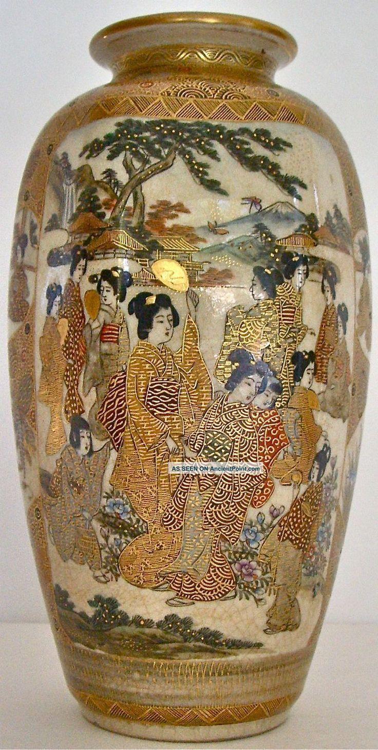 Hand Painted Satsuma