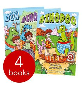 Dinopoo Collection - 4 Books(Collection):9781848124325 this is £4.99 on book people for Luke