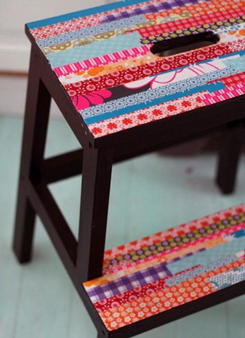 Furniture with Washi.