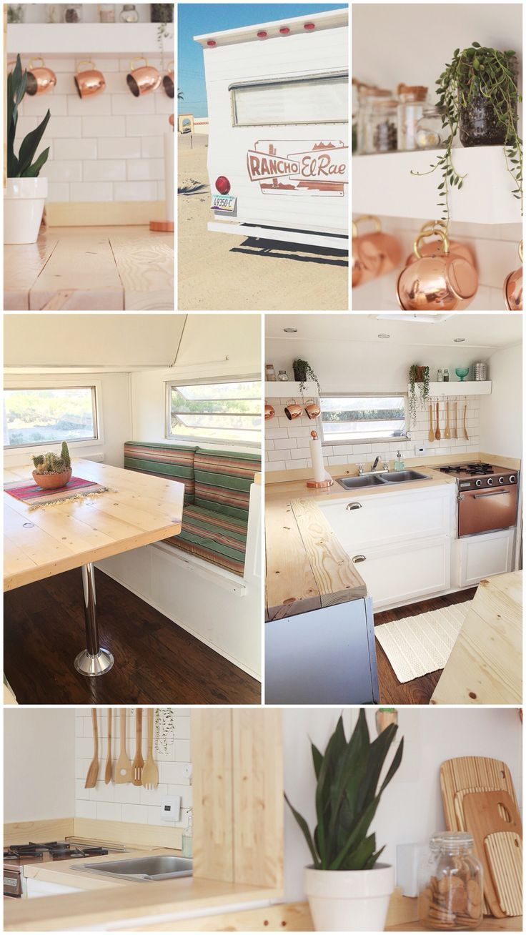 Best Vintage Trailer Decor Ideas On Pinterest Vintage - Old shabby trailer gets one hell makeover