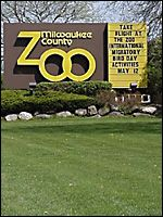 Milwaukee County Zoo - my honey took us on a family vacation here for labor day.