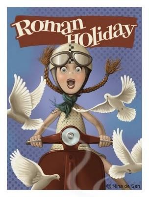 """""""Roman Holiday"""" Nina de San"""