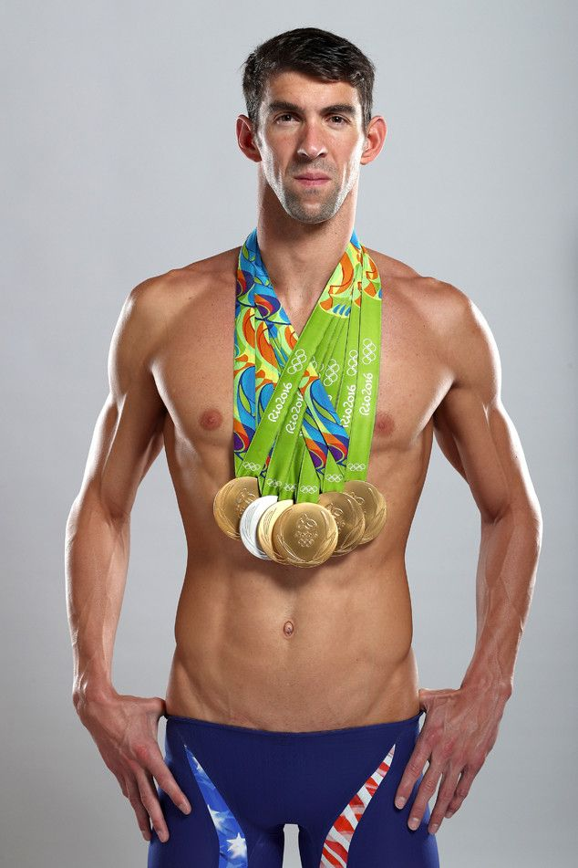 Michael Phelps, 2016 Rio, Olympics, Gold Medals