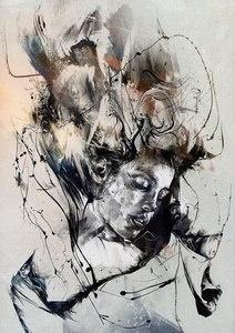 Image of MADRE BY RUSS MILLS (AKA) BYROGLYPHICS