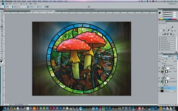 How to create a stained glass effect - Tutorials - Digital Arts