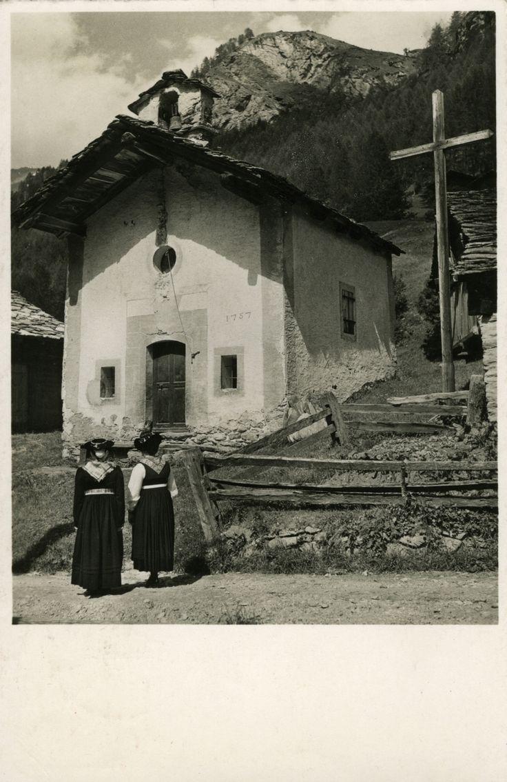 Chapelle des Haudères au Val d' Hérens (VS), 1952