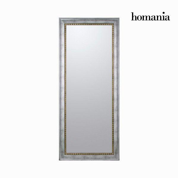 #Spiegel mit silbernem #Rahmen #Dekoration #Wand #Wohnung #Haus