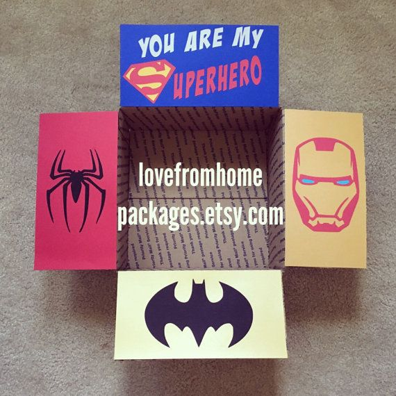 Custom Order Care Package Flaps by LoveFromHomePackages on Etsy