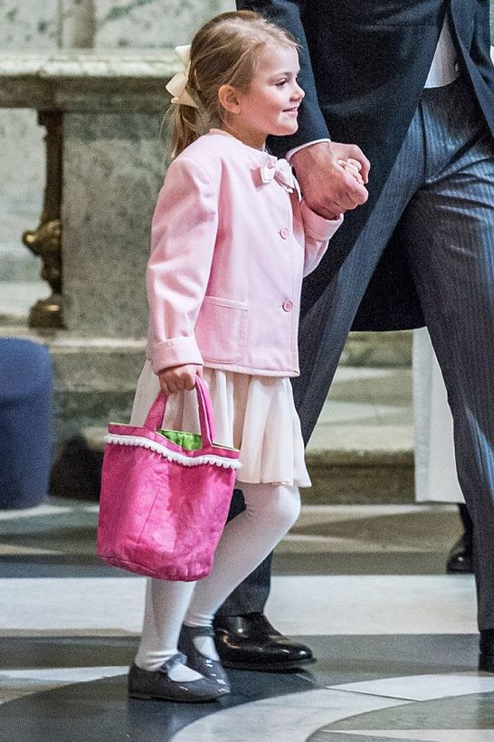 royalwatcher:  Princess Estelle at the Te Deum for her little brother Prince Oscar, March 3, 2016