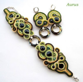 Gorgeous soutache jewellery