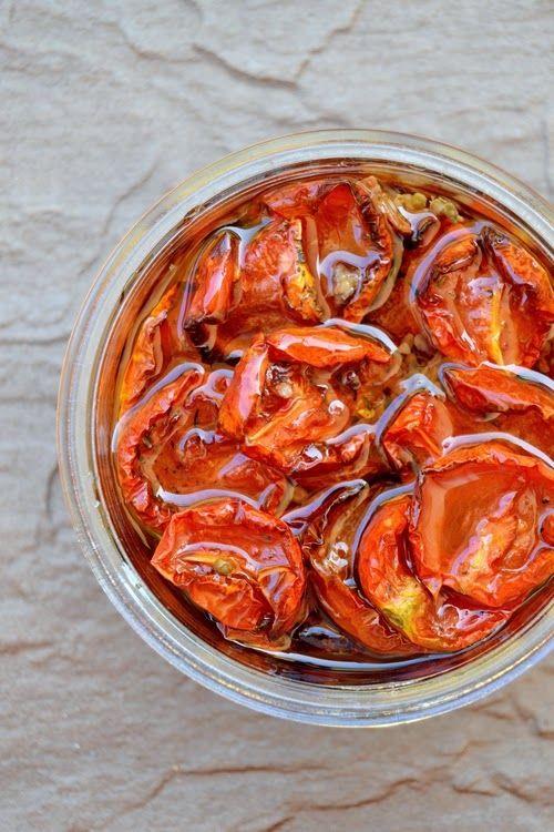 S vášní pro jídlo: Domácí sušená rajčata