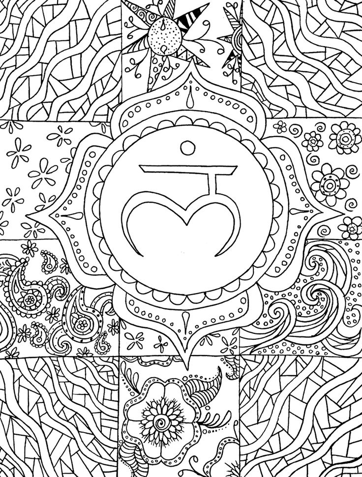 a coloring page preview from yoga in color a yoga anatomy coloring exploration - Yoga Anatomy Coloring Book