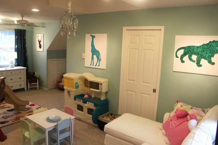 Gender Neutral Nursery And Playroom For The Home