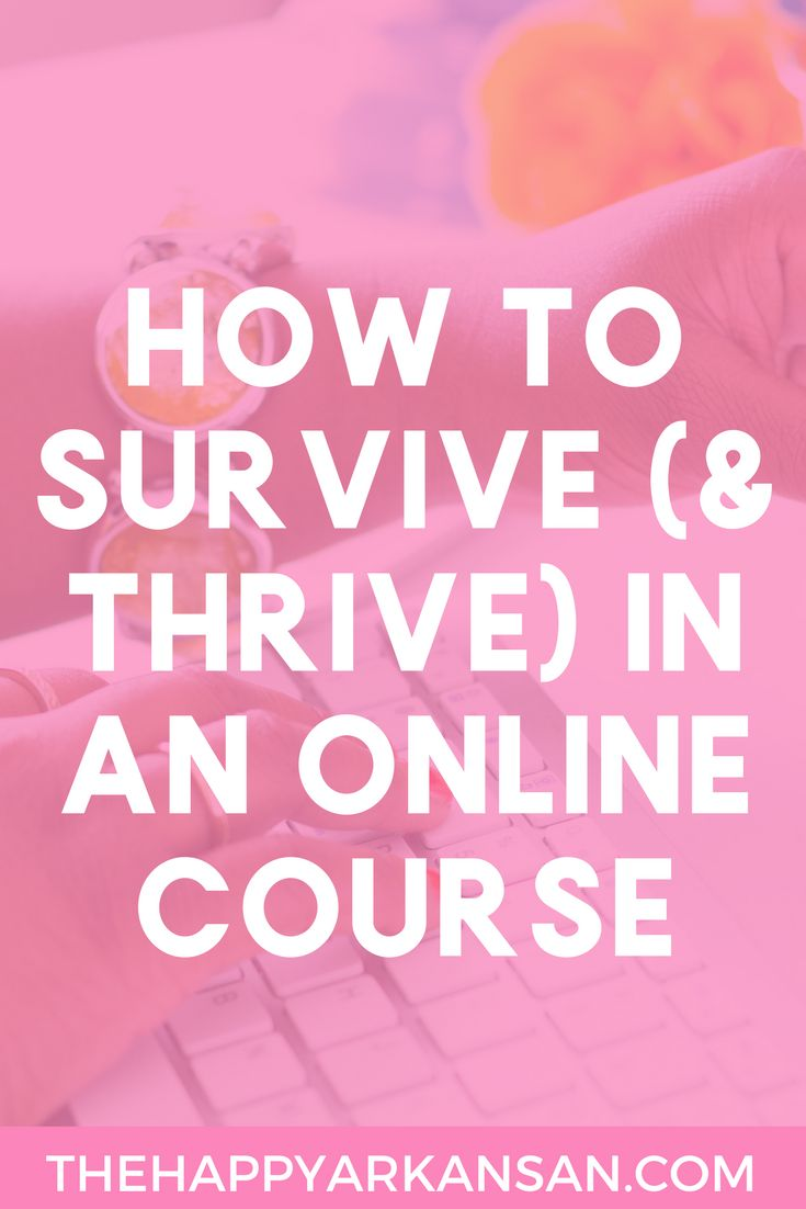 How To Survive (& Thrive) In An Online Course   Are you taking an online course at your #college anytime soon? Check out my 10 tips that will help you survive and thrive all your online courses (especially if you are used to taking courses in a classroom!)