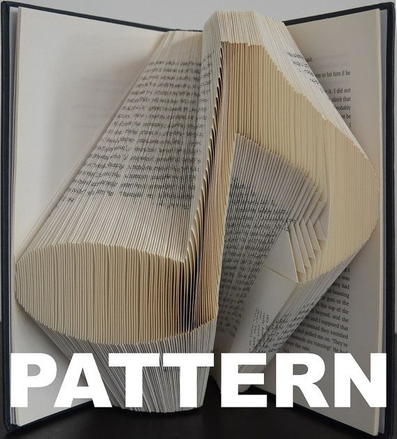 Book Folding Pattern  Musical Note  Free Instructions
