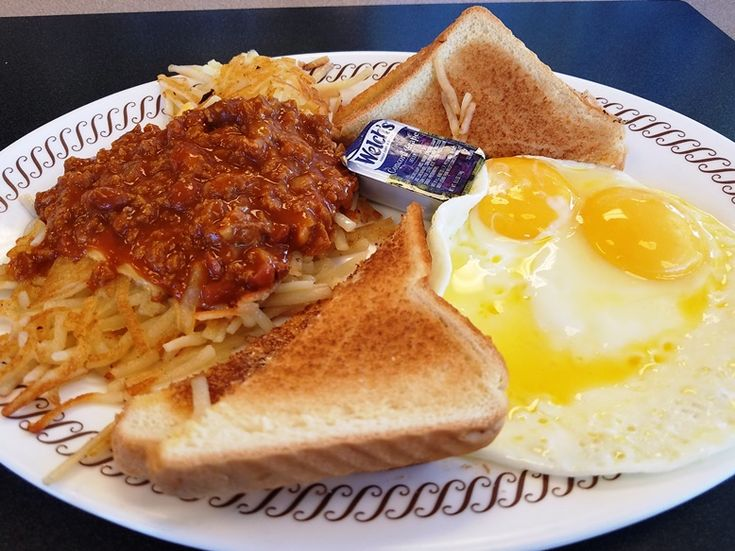 Waffle House, Durham - This classic eatery dishes out wonderful eggs, sandwiches and of course, waffles if you're on the road or just looking for a bite!