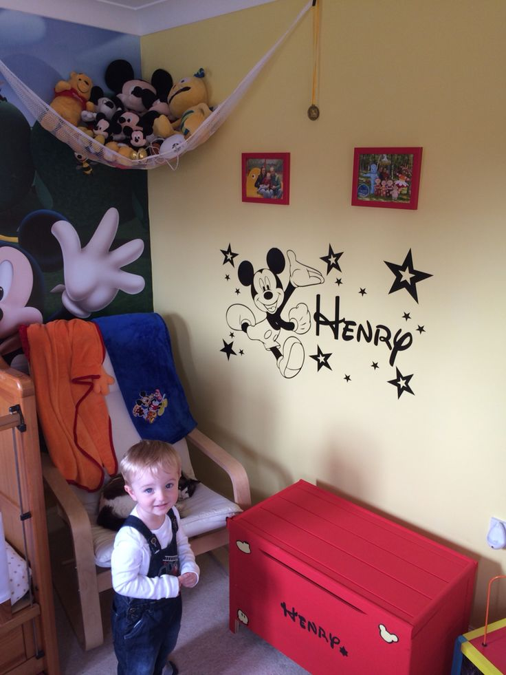 Mickey Mouse Bedroom Set