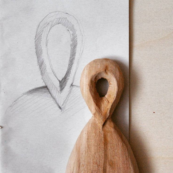 I usually sketch the elements I find hard to make. This was no exception. Unfortunately my sketch fooled me - the handle looked easier to make than it turned out to be. Still a lot of work ahead but I'm getting there. I'm doing it for the first time, so it's probably going to be easier next time... I hope :) #wood #woodcarving #silverbirch #detail #workinprogress #firsttime #itsallaboutdetails #sketchinghelps