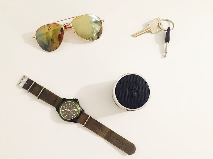 Sunglasses Blue Piston Speaker and Watch — Thinking Out Loud Blue Piston Header - LOGiX #Speaker #Tech #BluePiston #GiftGuide #Holidays #Christmas #RosaliPeccia