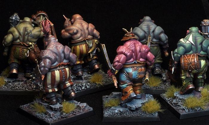 Ogre Kingdoms bulls