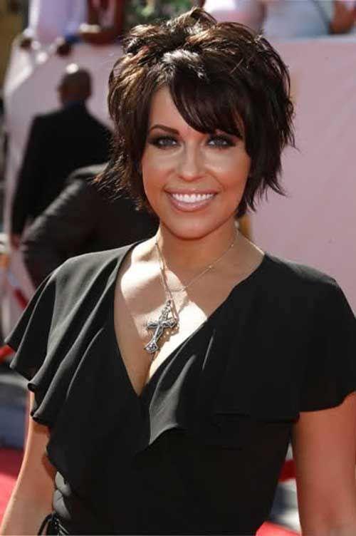 Astounding 1000 Ideas About Short Dark Hair On Pinterest Dark Hair Dark Short Hairstyles Gunalazisus