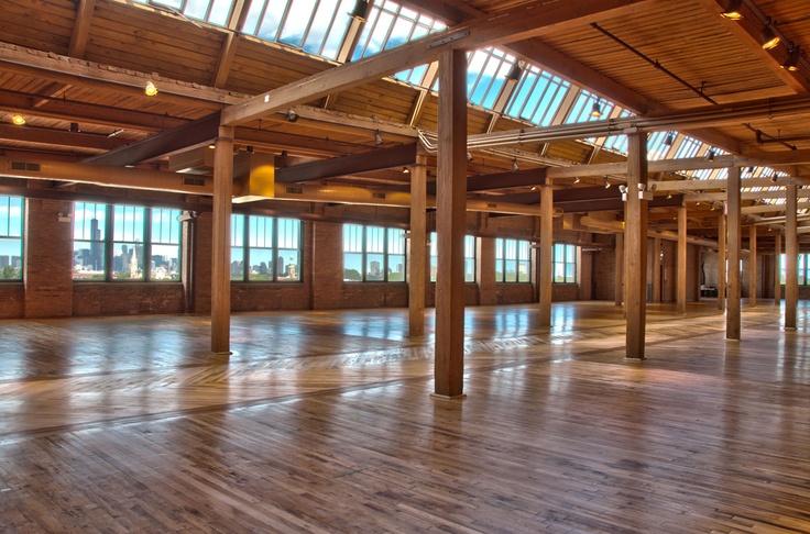 (possible wedding venue) Skyline Loft | Bridgeport Art Center Chicago Event Space