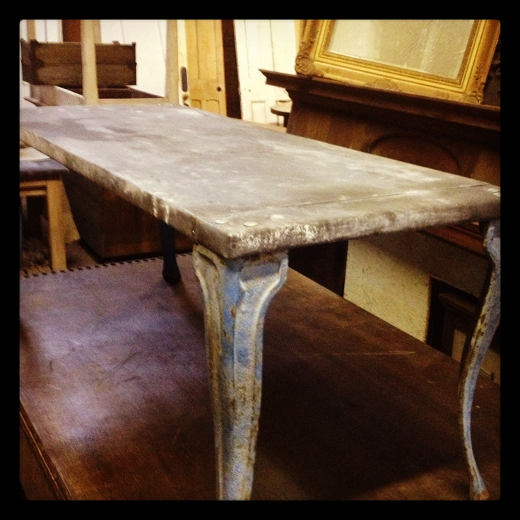 61 best zinc topped tables images on pinterest