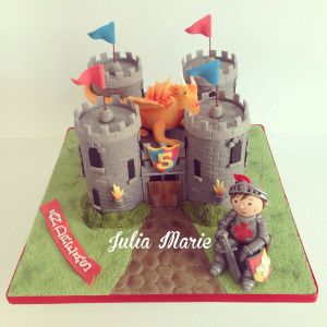 Knight Theme Cake http://cakedecorating.myfavoritecraft.org/birthday-cake-images/