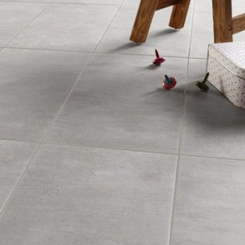 Merlin interieur and ps on pinterest for Carrelage gres cerame gris