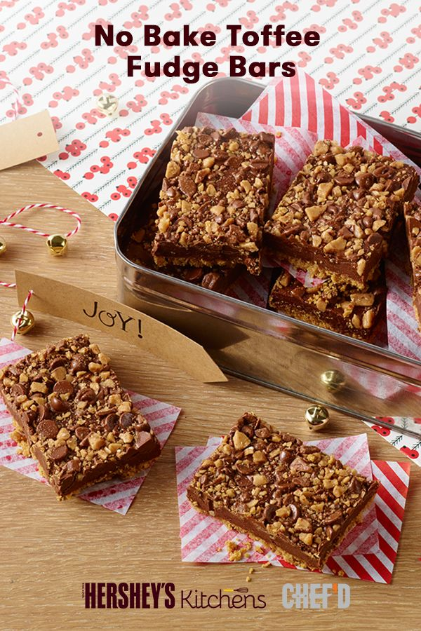 These No Bake To Ee Fudge Bars Are Just As Delicious As They Are Easy To