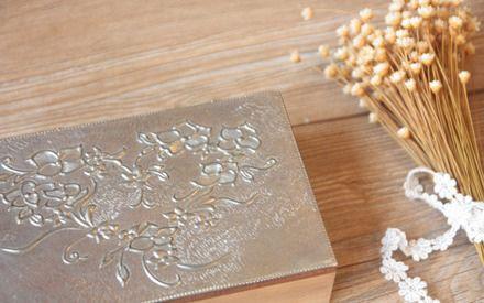 優雅錫雕飾品盒(3hrs)