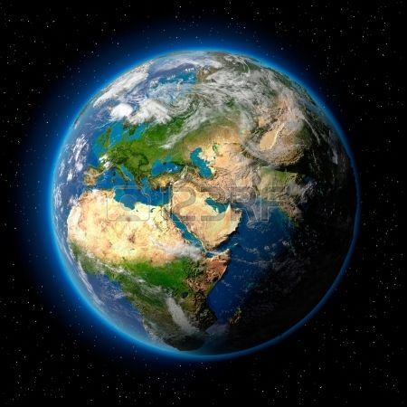 Earth stock shot