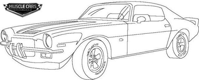 Barracuda Muscle Cars Coloring Pages Cars Coloring Pages Race Car Coloring Pages Coloring Pages