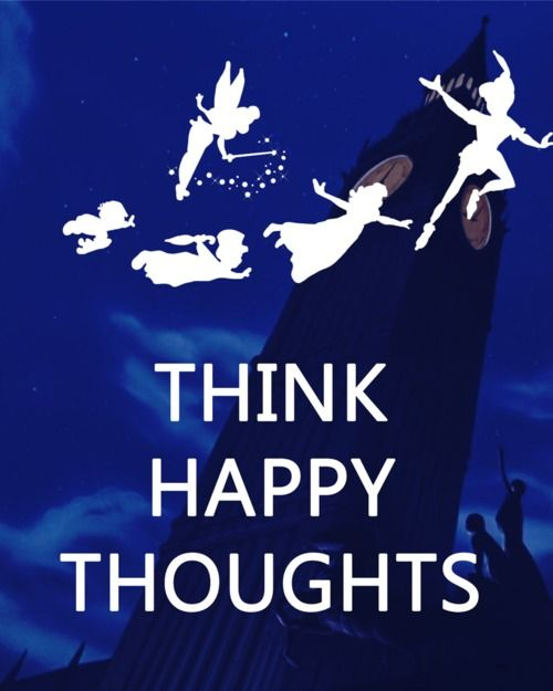 Think Happy Thoughts...it's Thursday, only one more day to go!!