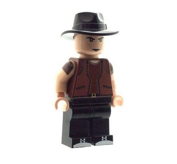 Cowboy from Warriors  Custom LEGO Minifigure