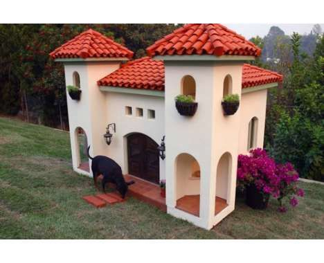 Canine Mansion  A Luxury Dog House For Your Pup